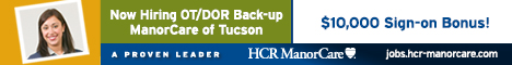 Banner Ad for HCR ManorCare